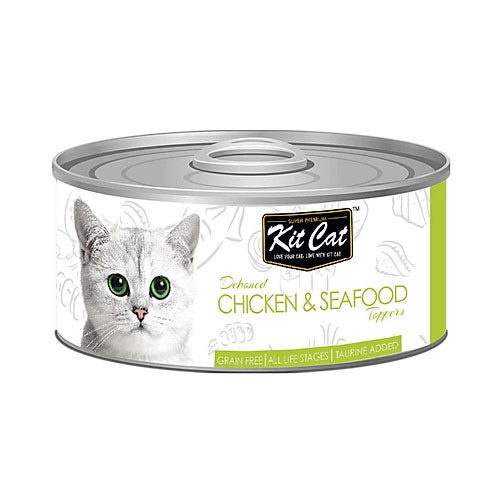 Kit Cat Chicken & Seafood 80gr - PETTER