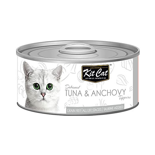 Kit Cat Tuna & Anchovy 80gr - PETTER