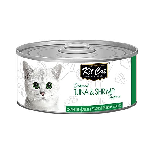 Kit Cat Tuna & Shrimp 80gr - PETTER