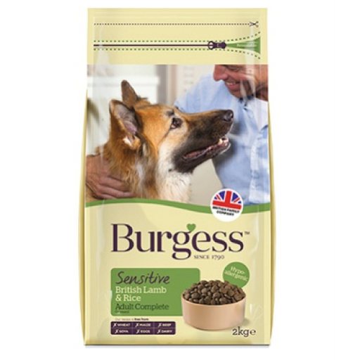Burgess Sensitive Lamb & Rice hipoalergénico - PETTER