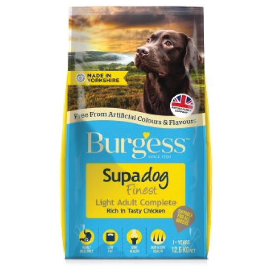 Burgess Adult Dog Light 12.5kg - PETTER