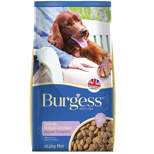 Burgess Adult Dog Mature 12.5kg - PETTER