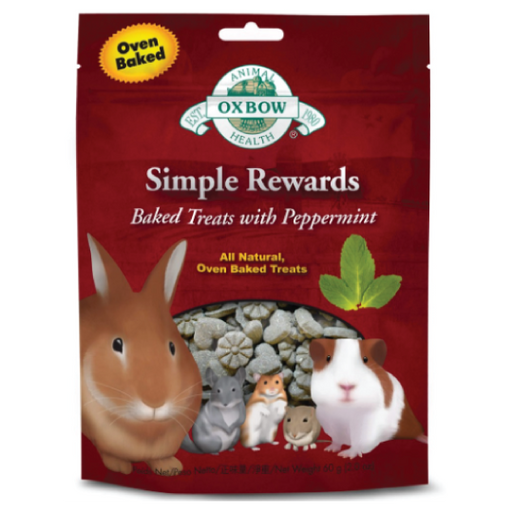 Oxbow Simple Rewards Baked Treats with Peppermint - PETTER