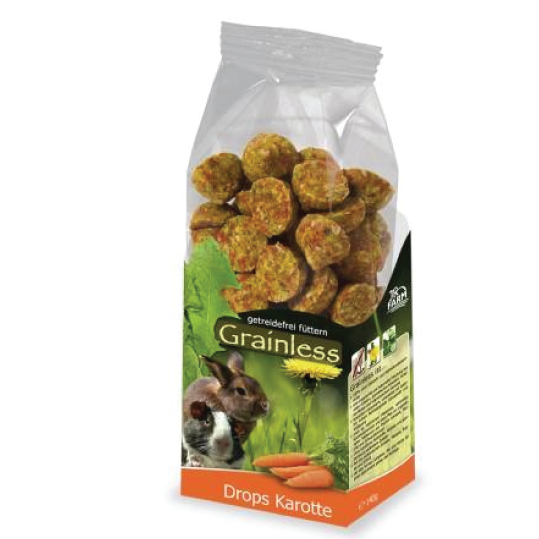 Jrfarm grainless carrot drops 120gr - PETTER