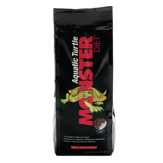 Monster Aquatic Turtles food (Tartarugas aquáticas) 397gr - PETTER