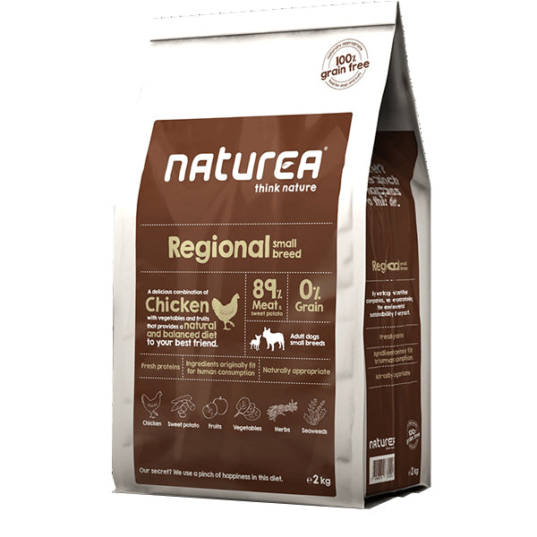 Naturea Regional small breed grain free - PETTER