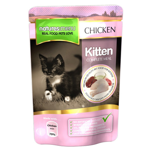 Nature's menu Kitten chicken  100gr - PETTER