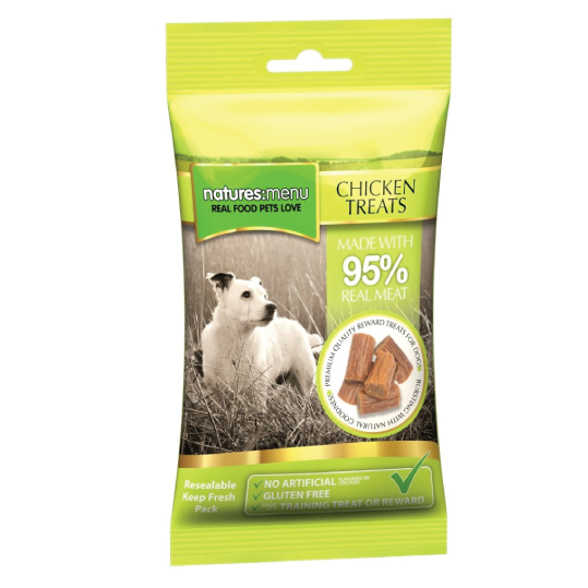 Natures Menu Chicken Treat (Frango) 60gr Snack cão - PETTER