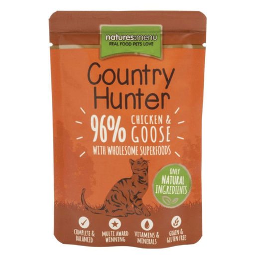 Natures Menu Cat Country Hunter Free Chicken & Goose 85gr