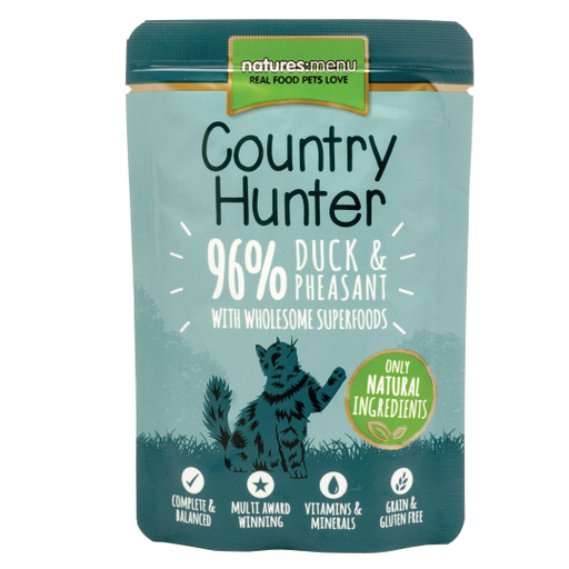 Country Hunter Duck & Pheasant cat 85gr - PETTER