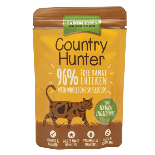 Natures Menu Cat Country Hunter Free Range Chicken 85gr