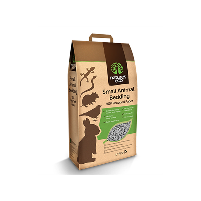 Nature's eco small animals bedding 100% papel reciclado - PETTER