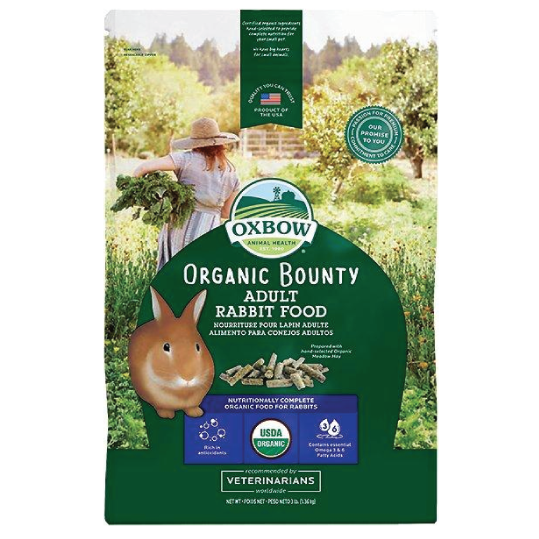 Oxbow organic bounty rabbit 1.36kgs - PETTER