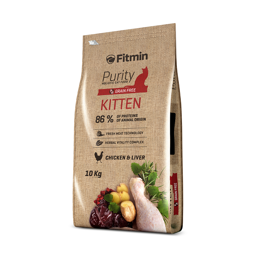 Fitmin purity cat food kitten - PETTER