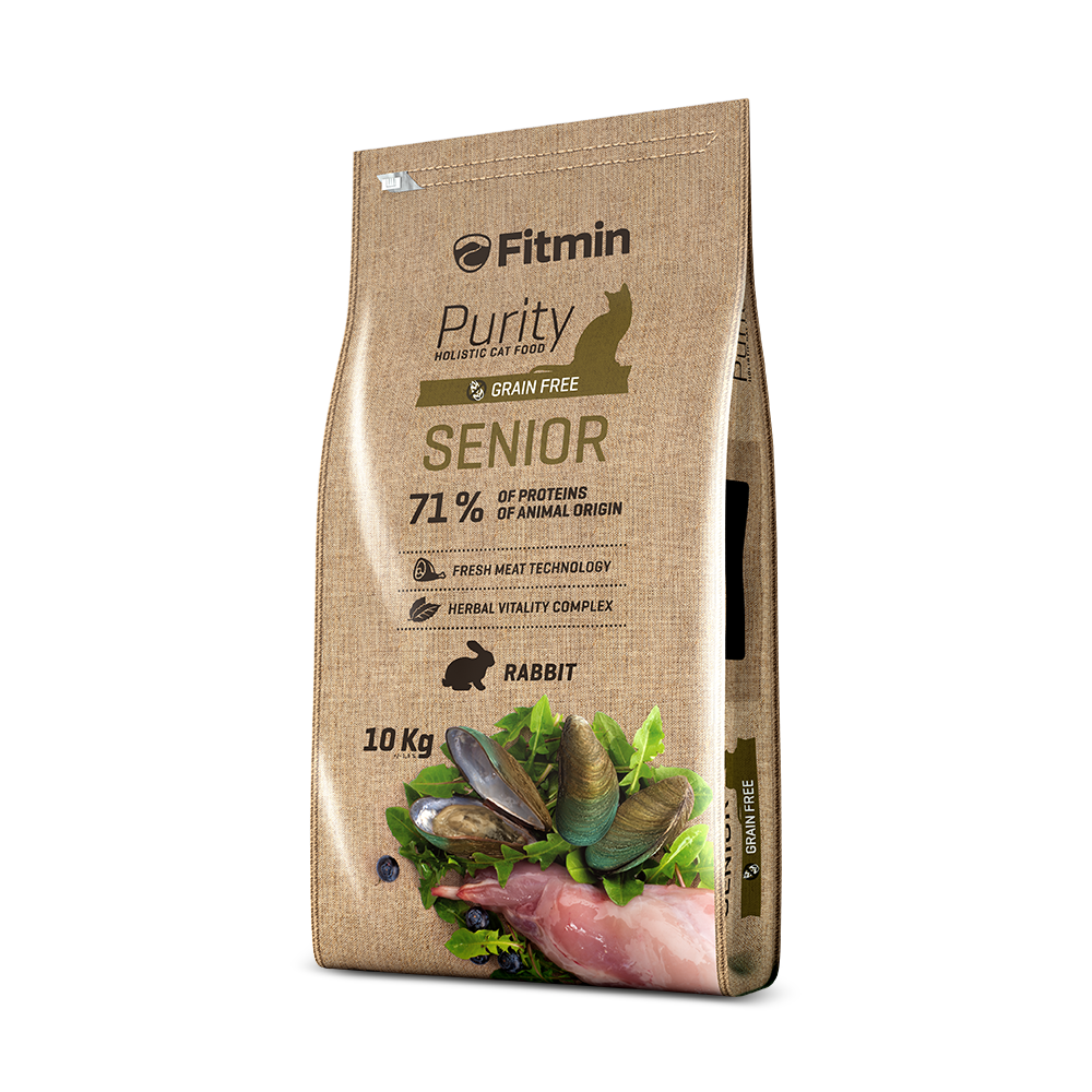 Fitmin purity cat food senior - PETTER