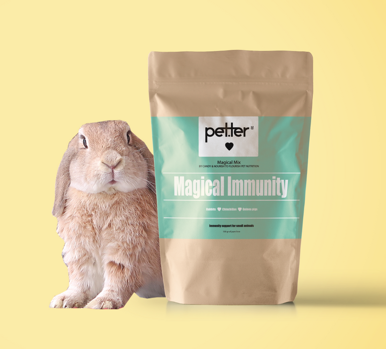 Mix Bunny, you got that healthy immunity! by PETTER