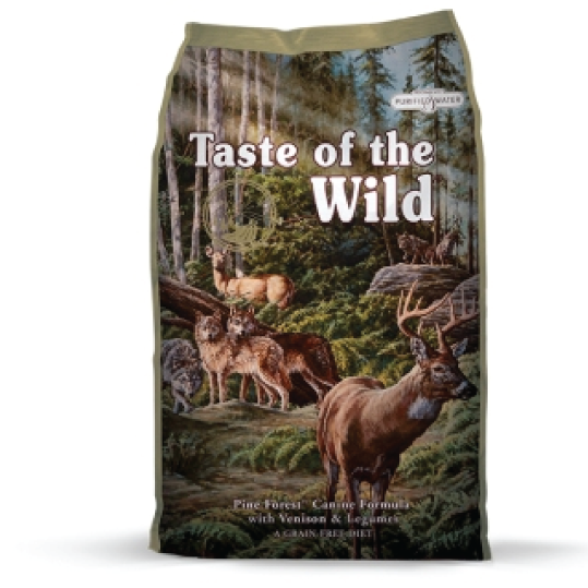 TASTE OF THE WILD pine forest veado - PETTER