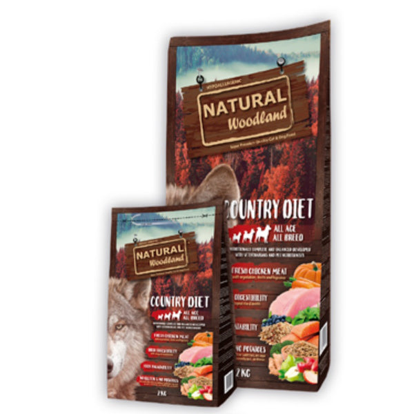 Natural Greatness woodland hypoallergenic country diet - PETTER
