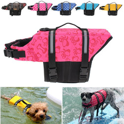 Reflective Life Preserver Float Vest for Dogs