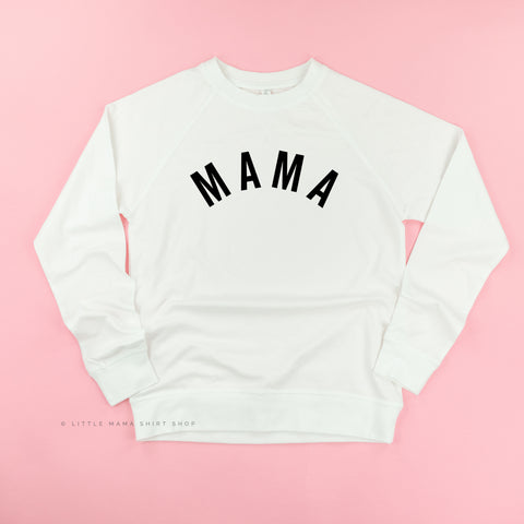 Mama (Arched) - Basics Collection - Lightweight Pullover Sweater