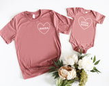 Mama / Little Mama | Set of 2 Shirts