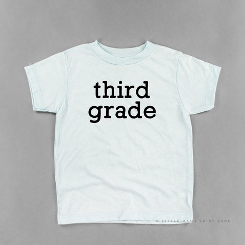 Third Grade - Child Shirt
