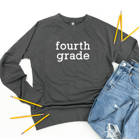 Fourth Grade - Lightweight Pullover Sweater