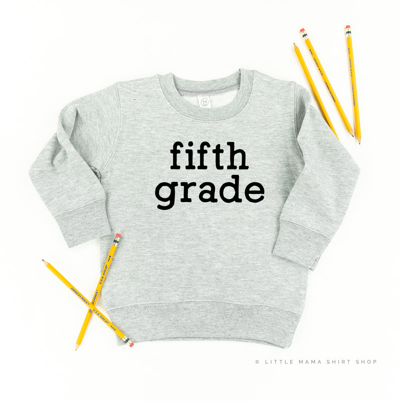 Fifth Grade - Child Sweater