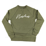 Mama (Cursive) - Basics Collection - Lightweight Pullover Sweater