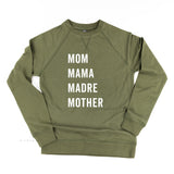 Mom Mama Madre Mother - Basics Collection - Lightweight Pullover Sweater