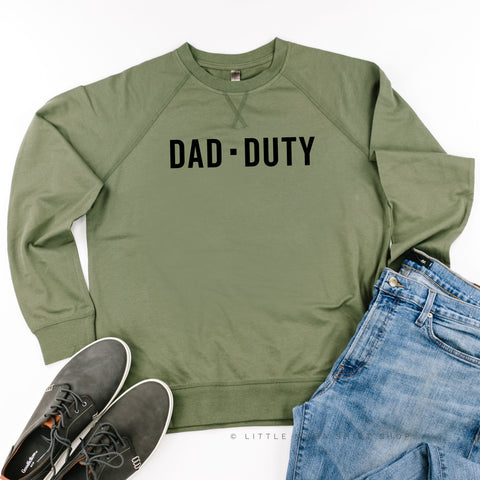 DAD DUTY - Lightweight Pullover Sweater