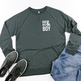 Dad and His Boy (Singular) - Lightweight Pullover Sweater