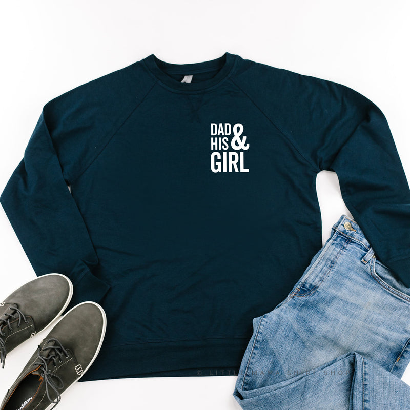 Dad and His Girl (Singular) - Lightweight Pullover Sweater