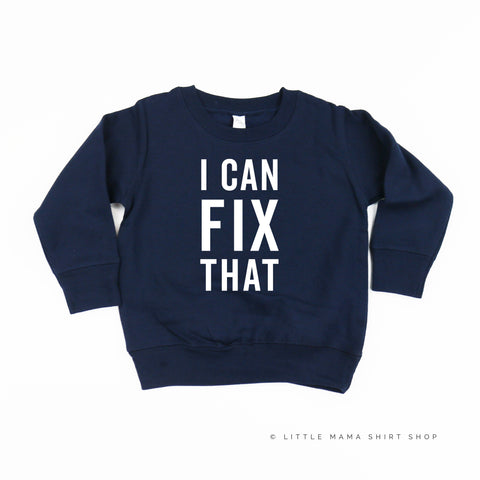I Can Fix That - Child Sweater