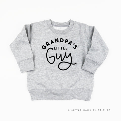 Grandpa's Little Guy - Child Sweater