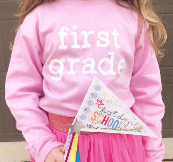 First Grade - Child Sweater