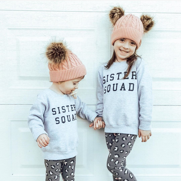 Sister Squad - Child Sweater