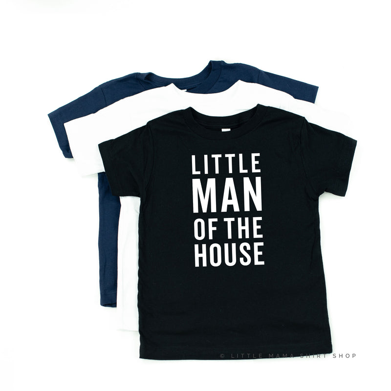 Little Man of the House - Child Shirt