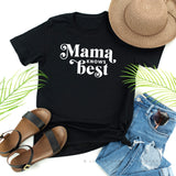 Mama Knows Best | Set of 2 Black or White Shirts