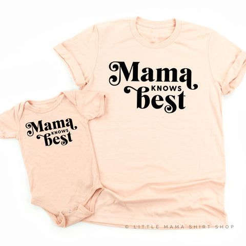 Mama Knows Best | Set of 2 Shirts