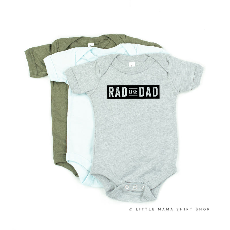 Rad Like Dad - Child Shirt