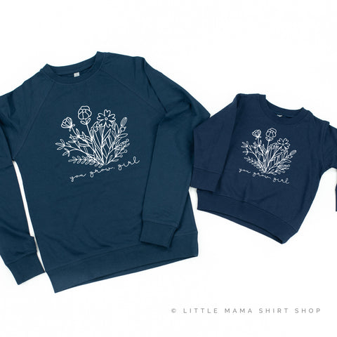 You Grow, Girl  - Set of 2 Matching Sweaters