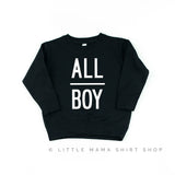 All Boy - Child Sweater