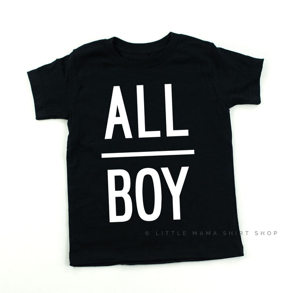 Life is Better with my Boys & All Boy | Set of 3 Shirts
