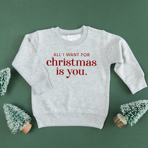 All I Want for Christmas Is You - Child Sweater