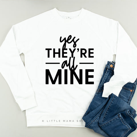 Yes They're All Mine - Lightweight Pullover Sweater