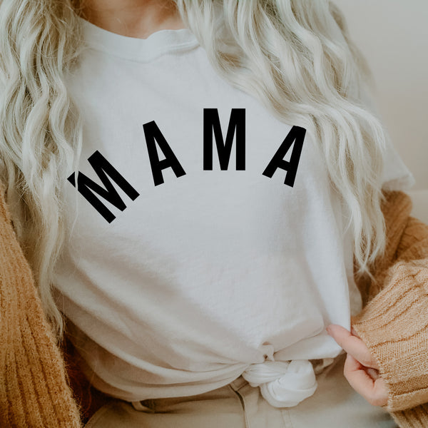 Mama (Arched) - Basics Collection - Unisex Tee