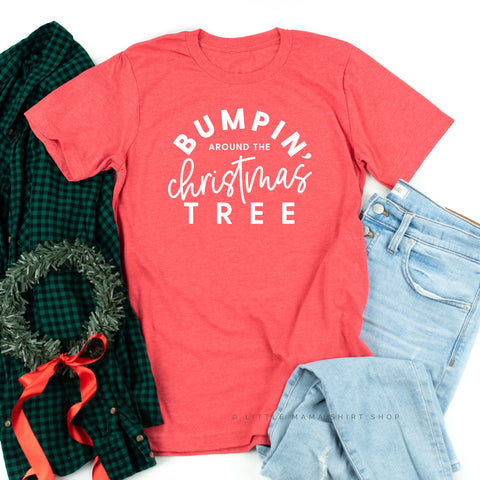 Bumpin' Around the Christmas Tree - Unisex Tee