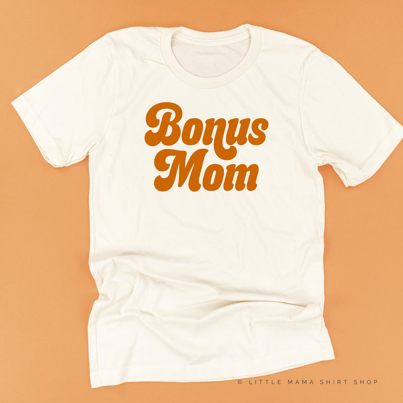 Bonus Mom (Retro) - Unisex Tee