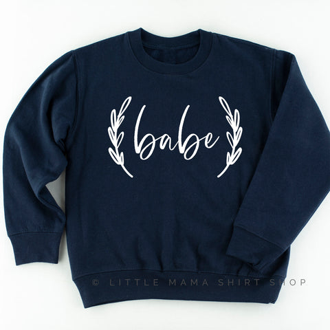 Babe - Kid's Sweatshirt